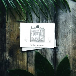 Teylers museum ansichtkaart